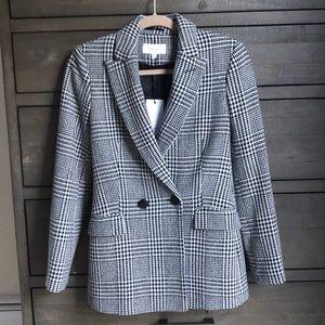 NWT Gorgeous Reiss houndstooth blazer jacket